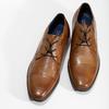 Brązowe skórzane półbuty męskie bugatti, brązowy, 826-3078 - 16