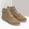 Brązowe skórzane obuwie męskie za kostkę weinbrenner, brązowy, 846-3719 - 26