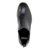 Granatowe skórzane obuwie damskie typu chelsea bata, niebieski, 594-9682 - 17
