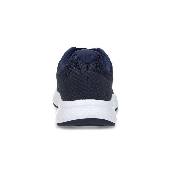 Granatowe sportowe trampki męskie nike, niebieski, 809-9882 - 15