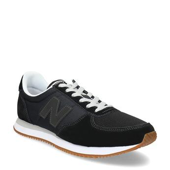 Czarne trampki męskie new-balance, czarny, 803-6141 - 13