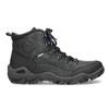 Skórzane obuwie męskie wstylu outdoor weinbrenner, czarny, 896-6706 - 19