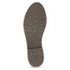 Granatowe botki zociepliną bata, niebieski, 596-9702 - 18