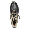 Granatowe botki zociepliną bata, niebieski, 596-9702 - 17