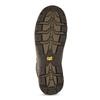 Brązowe skórzane obuwie męskie wstylu outdoor caterpillar, brązowy, 806-4108 - 18