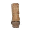Brązowe skórzane trzewiki damskie weinbrenner, brązowy, 696-3668 - 15