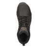Brązowe skórzane obuwie męskie za kostkę merrell, brązowy, 806-4102 - 17