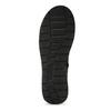 Czarne skórzane kozaki damskie bata, czarny, 594-6684 - 18