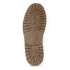 Beżowe skórzane trzewiki męskie weinbrenner, beżowy, 896-8630 - 18