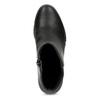 Czarne botki damskie na koturnach bata-b-flex, czarny, 791-6630 - 17