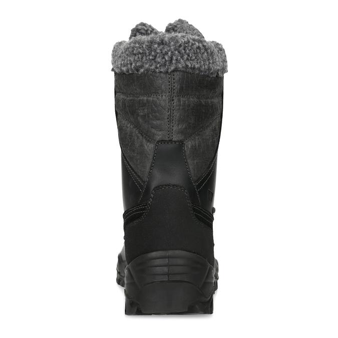 Zimowe śniegowce męskie zociepliną weinbrenner, czarny, 896-6730 - 15