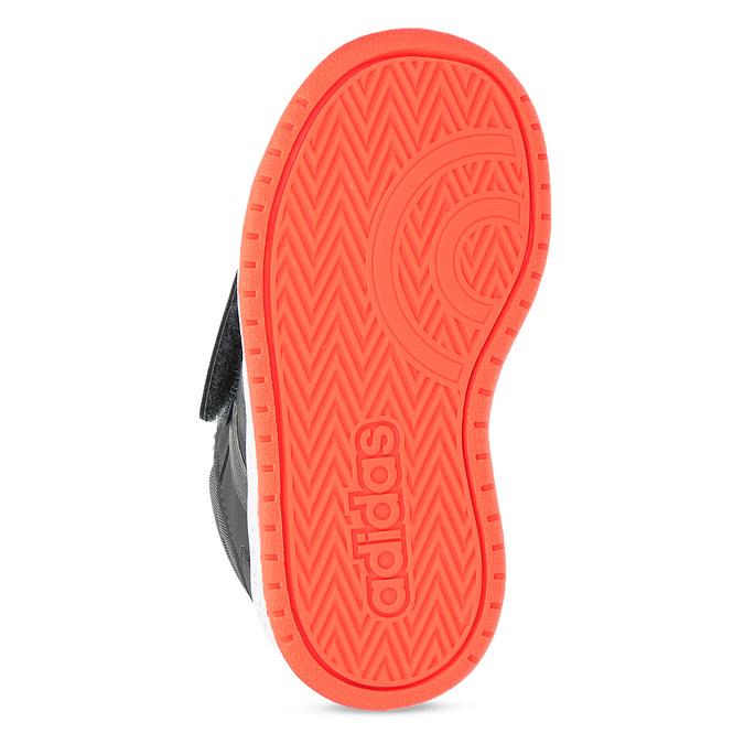 Szare zimowe trampki dziecięce za kostkę adidas, szary, 101-2197 - 18