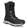 Pikowane zimowe śniegowce damskie bata, czarny, 599-6623 - 13