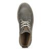Zamszowe obuwie męskie za kostkę weinbrenner, szary, 896-2735 - 17