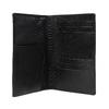 Komplet okładki na paszport, zawieszki na bagaż ibreloka do kluczy royal-republiq, czarny, 944-6004 - 26