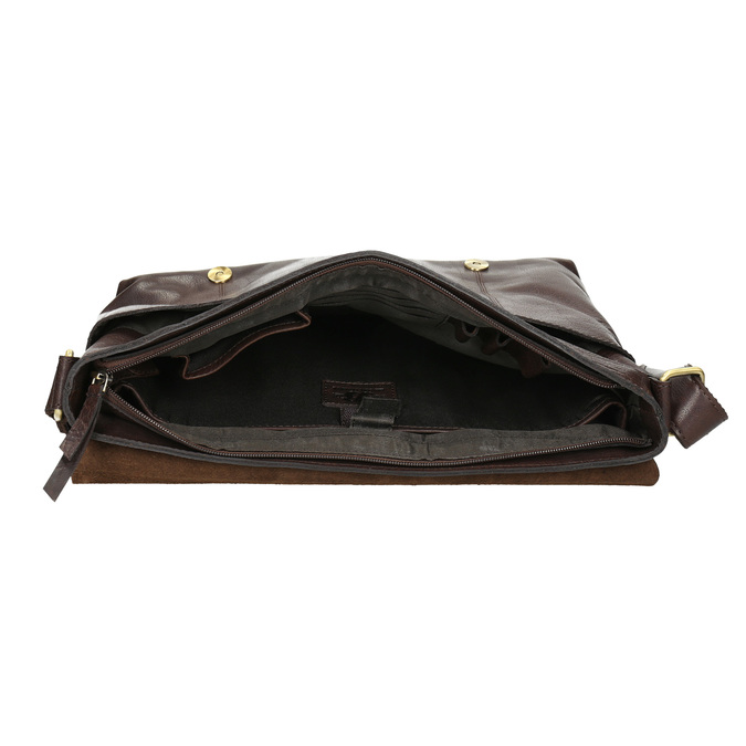 Skórzana torba męska bata, brązowy, 964-4235 - 15