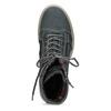 Wysokie skórzane obuwie damskie weinbrenner, szary, 596-2746 - 17