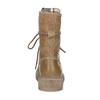 Jasnobrązowe skórzane obuwie damskie weinbrenner, brązowy, 596-3758 - 15