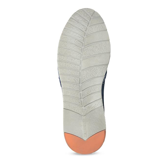 Zamszowe buty Slip-on weinbrenner, niebieski, 833-9601 - 18