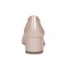 Beżowe lakierowane czółenka damskie bata, różowy, 621-5657 - 15