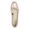 Beżowe lakierowane czółenka damskie bata, różowy, 621-5657 - 17