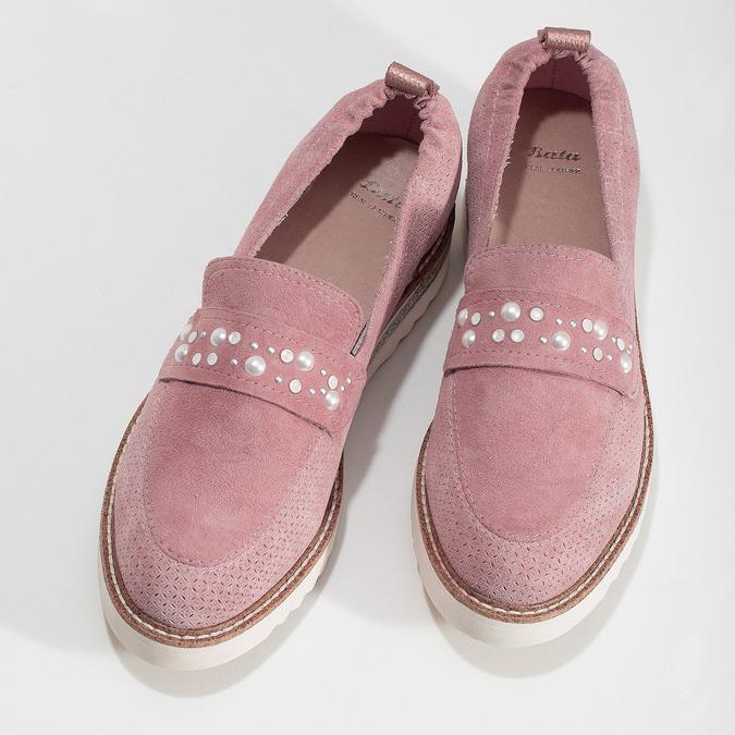 5335605 bata, różowy, 533-5605 - 16