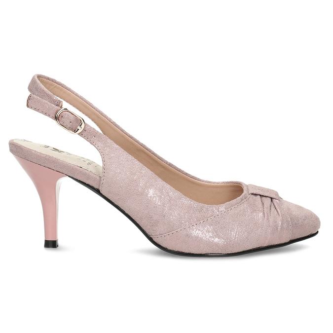 6295655 bata, różowy, 629-5655 - 19