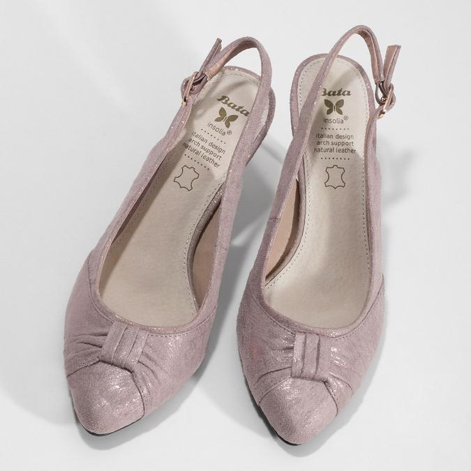 6295655 bata, różowy, 629-5655 - 16