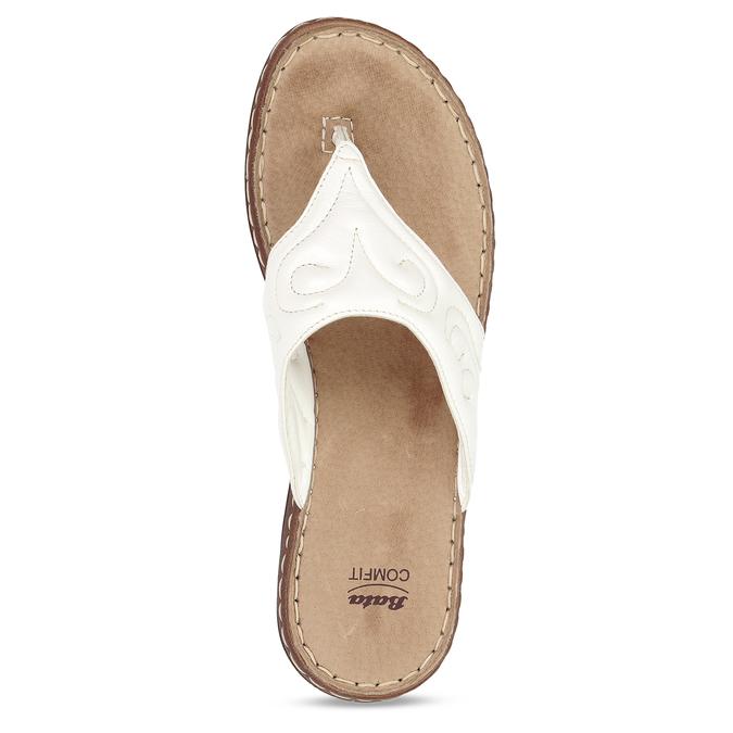 5661600 bata, biały, 566-1600 - 17