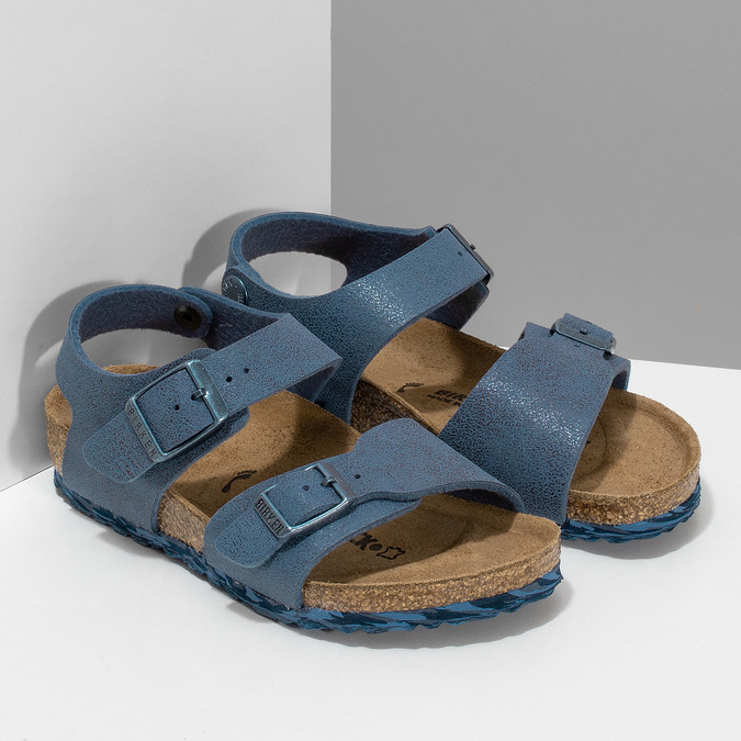3619135 birkenstock, niebieski, 361-9135 - 26