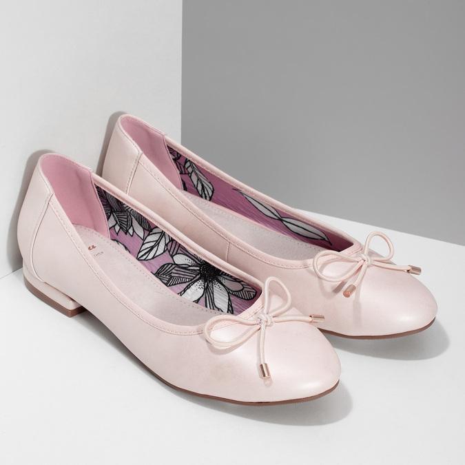 5218650 bata, różowy, 521-8650 - 26