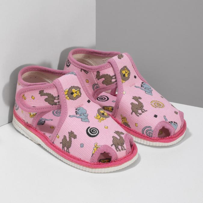 1795630 bata, różowy, 179-5630 - 26
