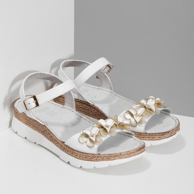 6641601 bata, biały, 664-1601 - 26